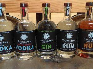 vodka gin rum